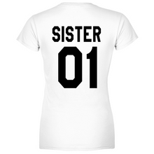 Load image into Gallery viewer, T-Shirt Donna Sister 01