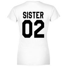 Load image into Gallery viewer, T-Shirt Donna Sister 02