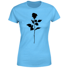 Load image into Gallery viewer, T-Shirt Donna black rose