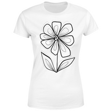 Load image into Gallery viewer, T-Shirt Donna Flowers