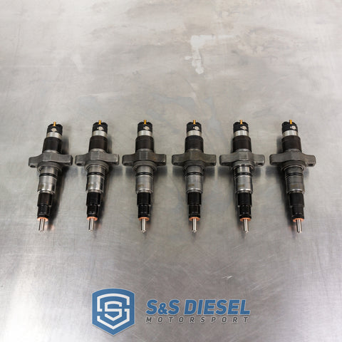 Late 5.9 Cummins 150-500% Fuel Injectors (Sold Individually)