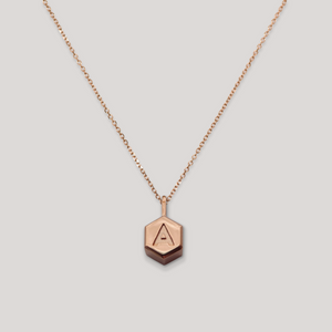 Letter Hex – Rose Gold
