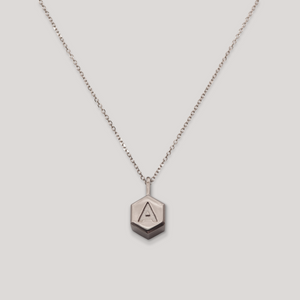 Letter Hex – White Gold