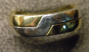 Wide Gimmel Ring sizes 4 to 7 1/2