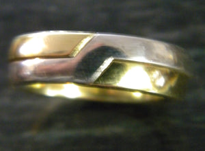 Wide Gimmel Ring sizes 8 to 12