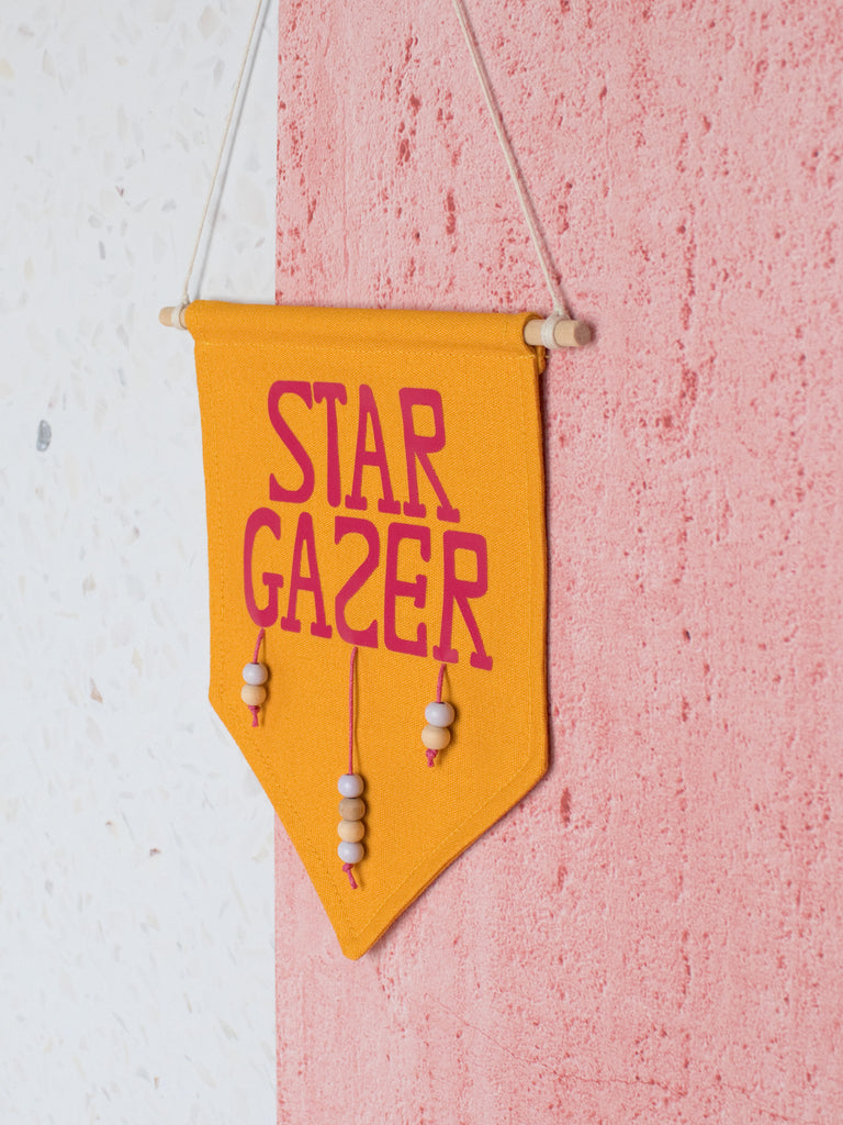 star gazing wall banner