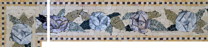 Mosaic Tile Patterns - Blue Bells