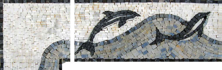Nautical Mosaic Corner Art