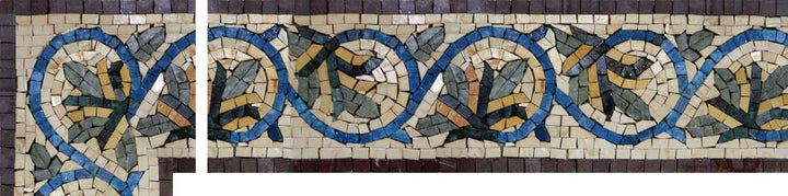 Mosaic Stone Corner Art - Colorama
