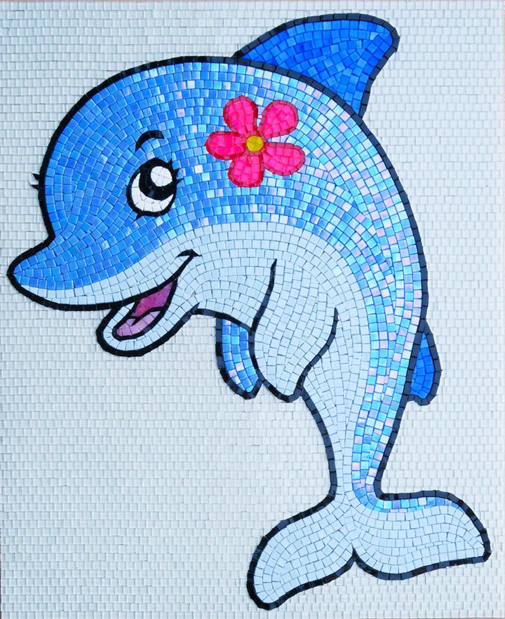 Petra Cartoon Dolphin