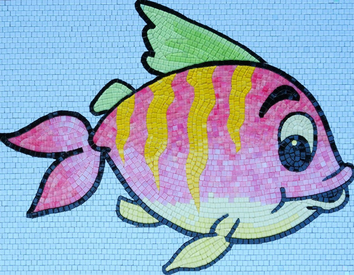 Alex the Fish - Comic Mosaic