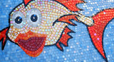Possie the Fish - Comic Mosaic