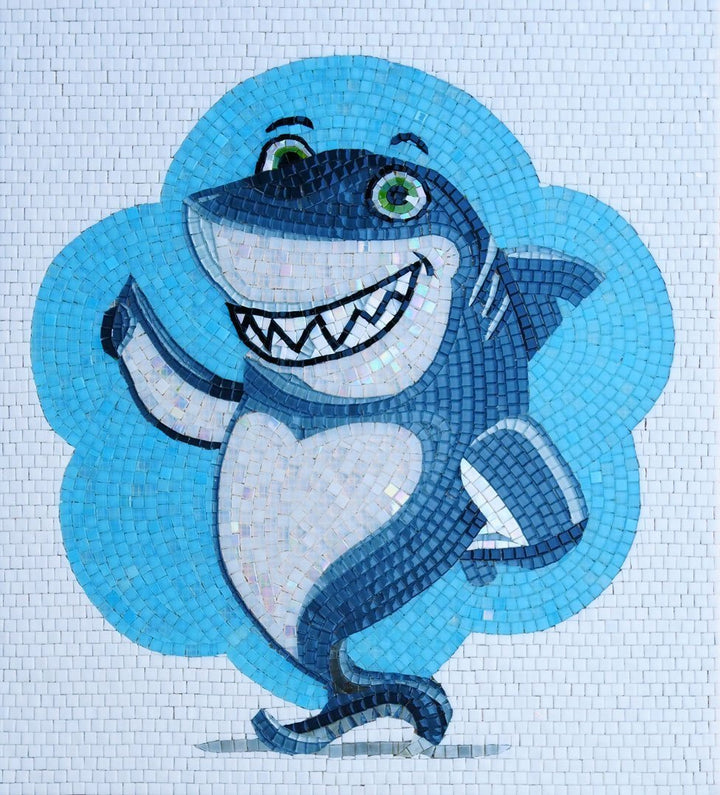 Scott the Shark - Comic Mosaic