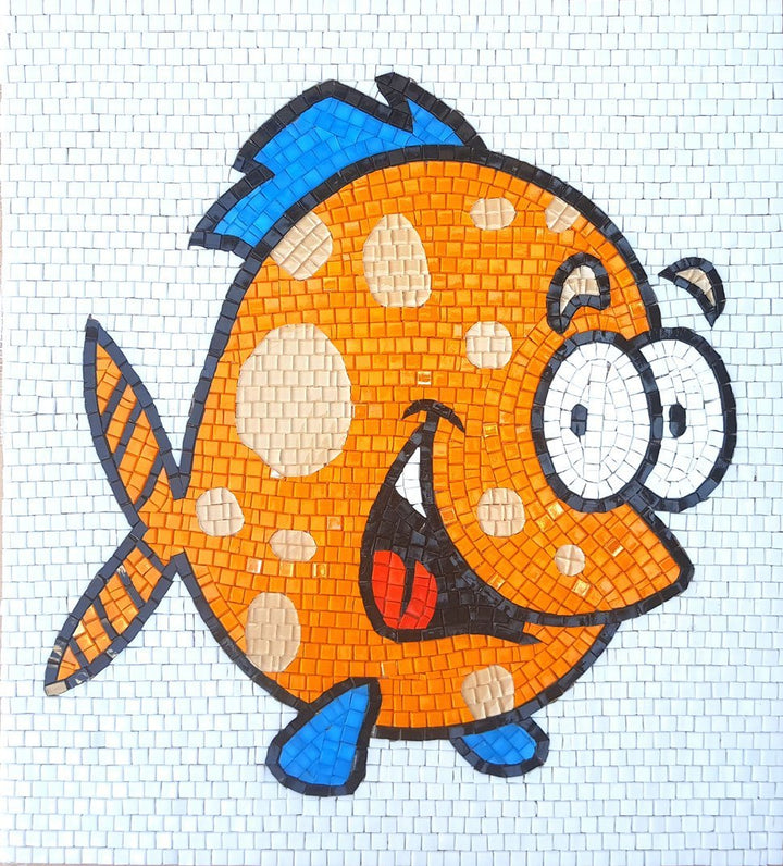 Angelo the Fish - Comic Mosaic