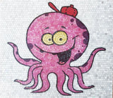 Matteo the Octopus - Comic Mosaic