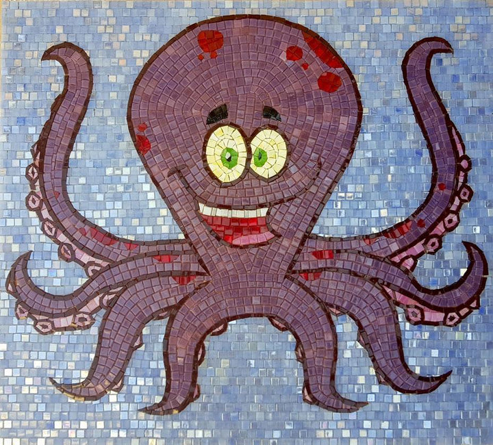 Squidward Octopus - Comic Mosaic