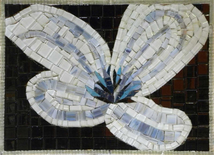 Mosaic Tile Patterns - The White Lilly