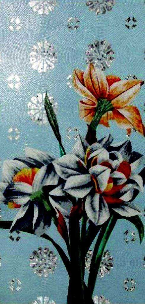 Mosaic Flower Art - The Windflowers