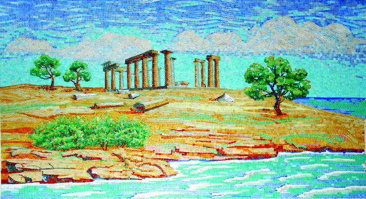 Mosaic Design - Historical Glass Temples