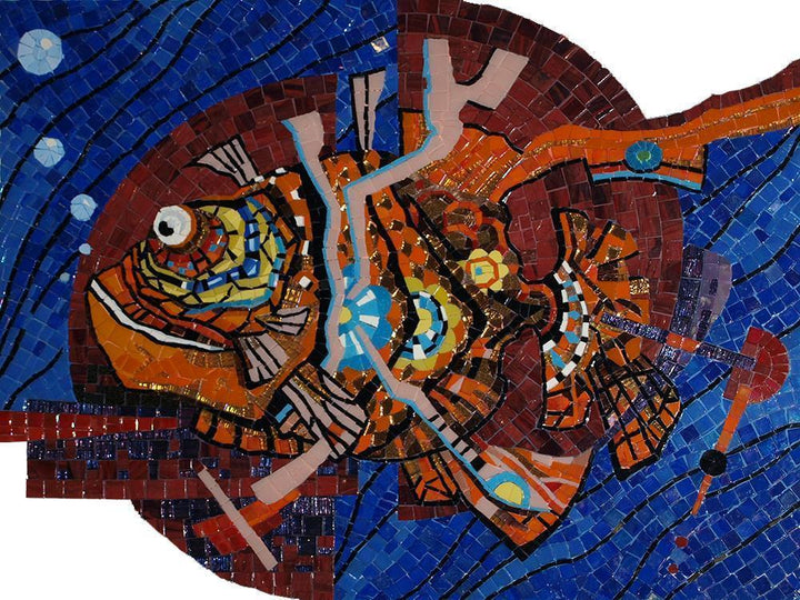 Fish Psychedelic Art