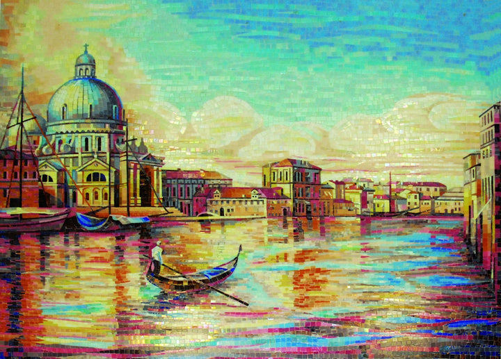 Mosaic Design - Morning In Venice