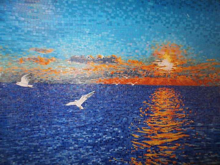 Glass  Mosaic - The Sunset