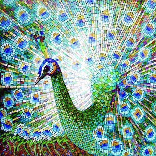 Mosaic Design - The Greeter