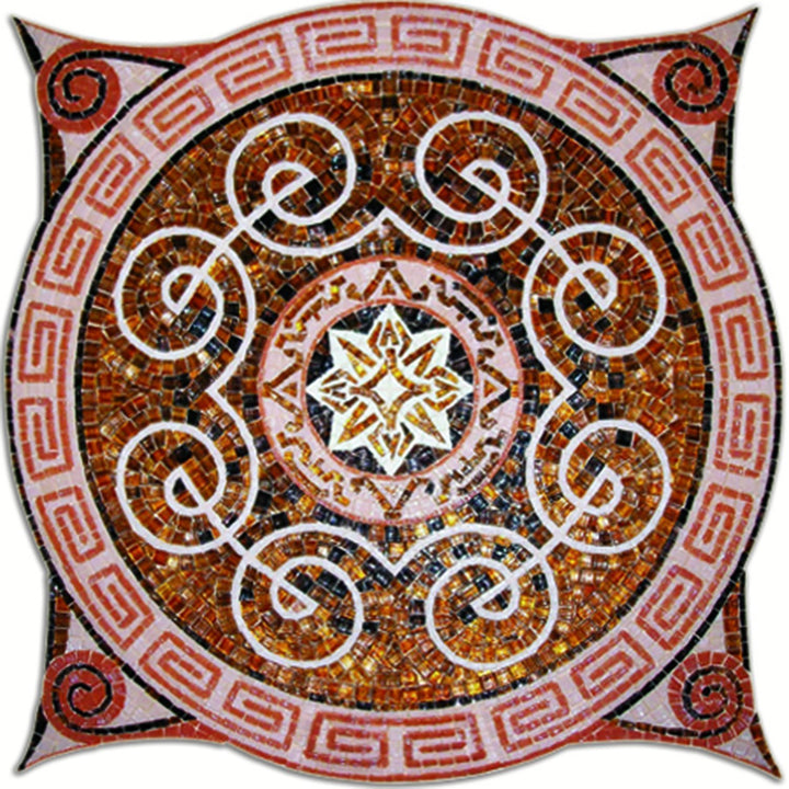 Geometric Arabesque Mosaic