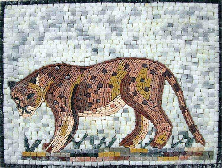 Marble Mosaic Designs - Leopard