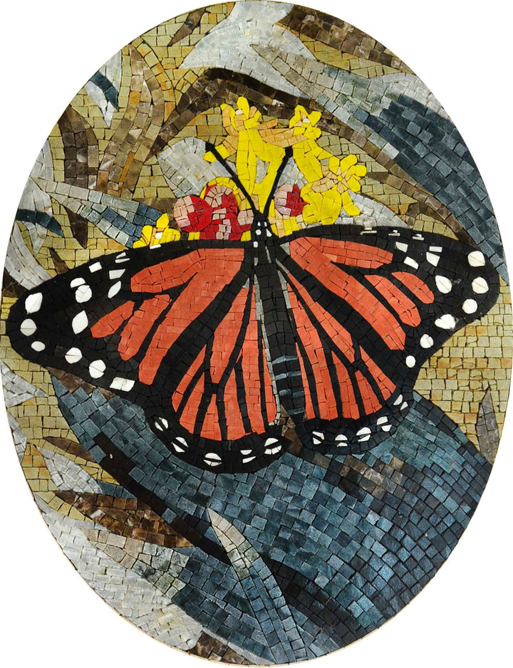 Mosaic Designs - Colorful Butterfly