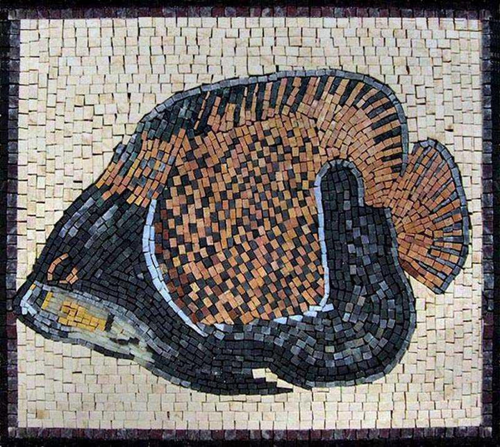 Fish Mosaic Mosaic Ideas