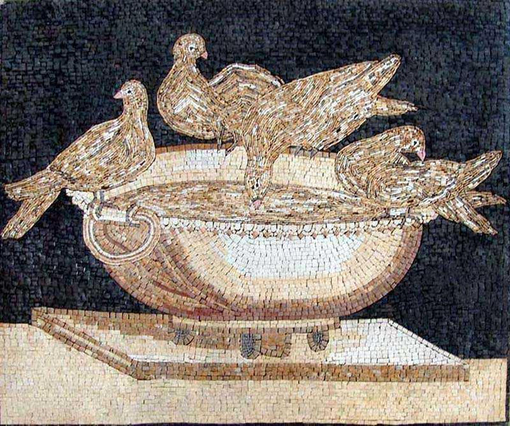 Mosaic Artwork - Sosus of Pergamon
