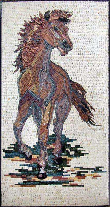 Mosaic Artwork - Dark Horse