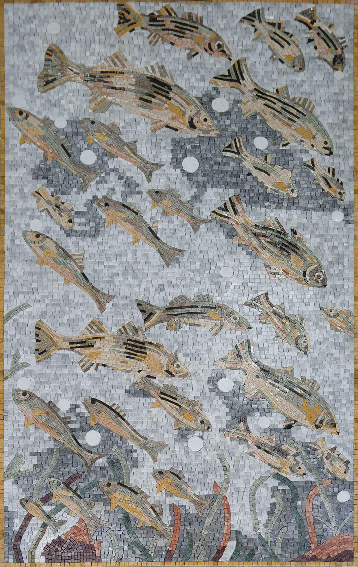Nautical Scene - Swimming Fishes