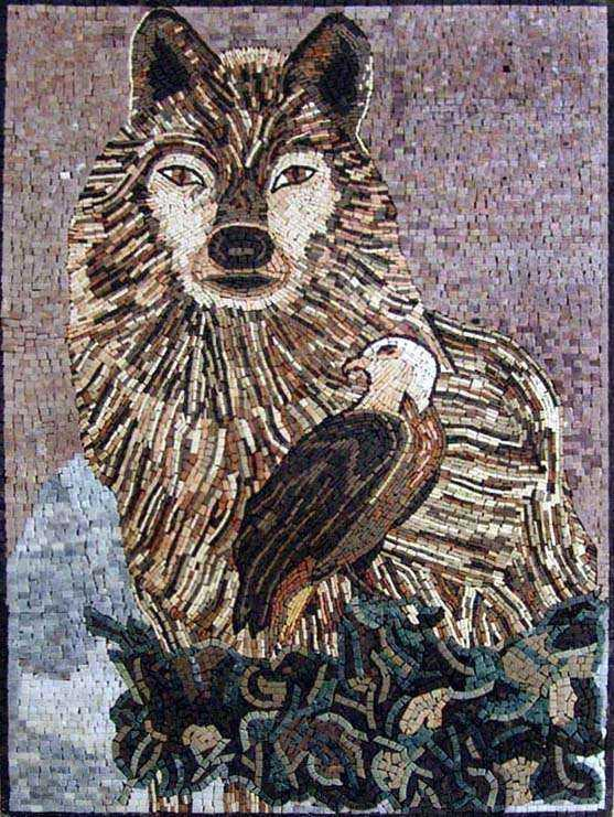 Animal Mosaic Art - Wild Animals