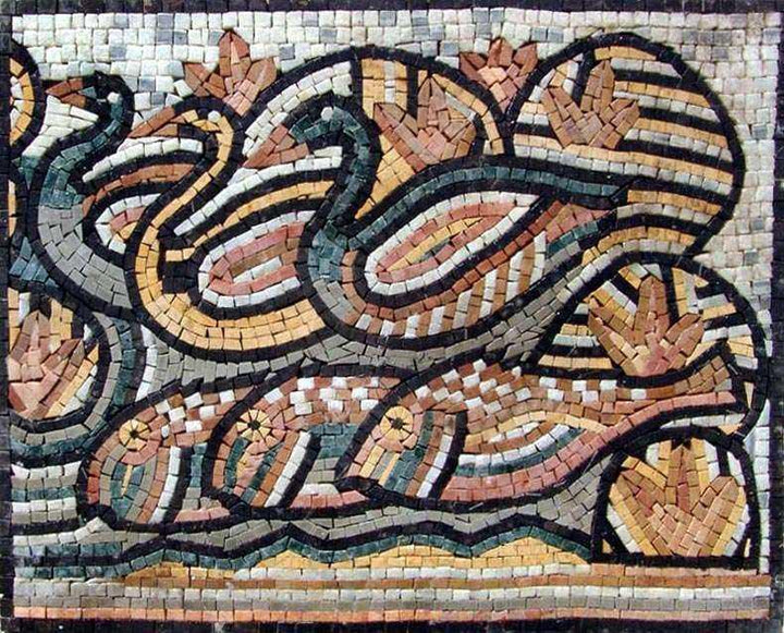 Mosaic Designs - Ducks and Fish