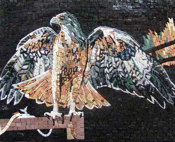 Mosaic Designs - Hawk