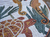 Mosaic Designs - The Life at Sea