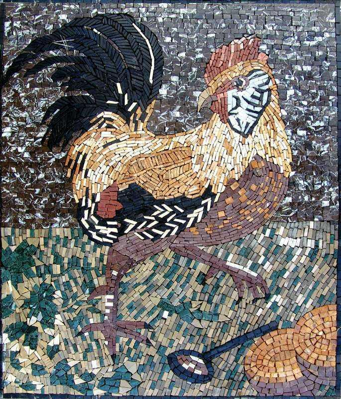 Mosaic Designs - Rooster