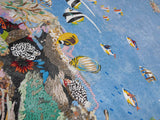 Wabasso Coastal Beach II - Mosaic Art