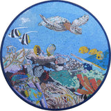 Down In The Reef - Mosaic Nautical Artwork