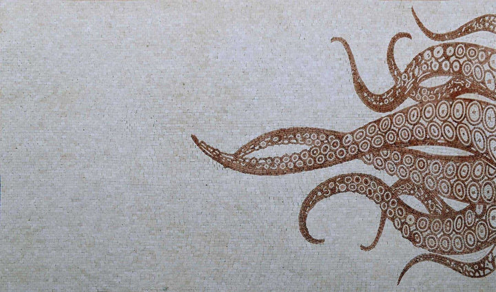Mosaic Art - Octopus Tentacles