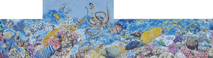 Nautical Mosaic Accent - Coral Bay