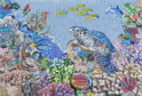 Mosaic Pool Art - Turtle Reef