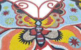 Mosaic Art - Colorful Butterfly