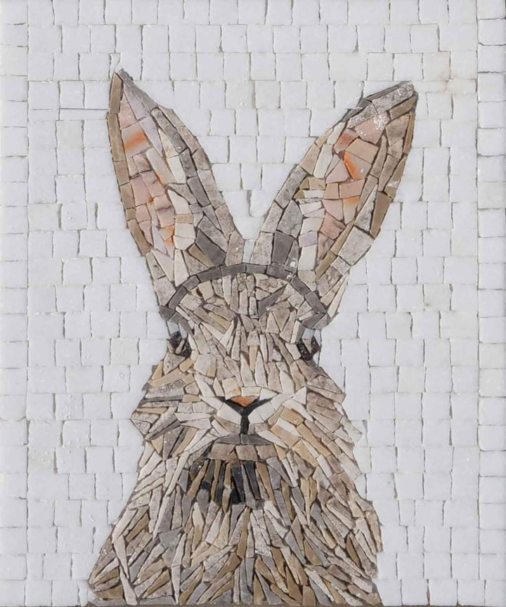 Bunny - Rabbit Mosaic Art