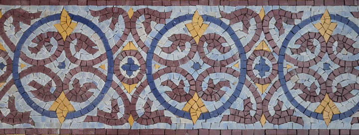 Mosaic Border - Royal Art II