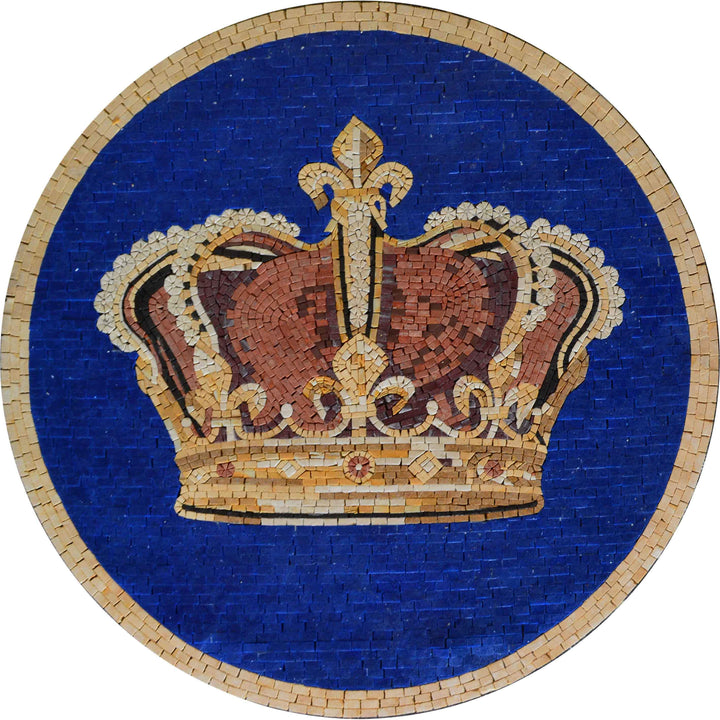 Royal Crown - Mosaic Medallion II