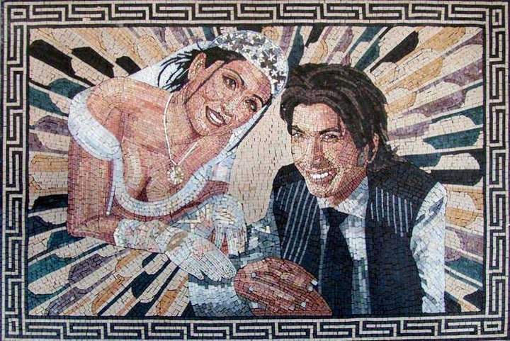 Custom Made Portrait Mosaic