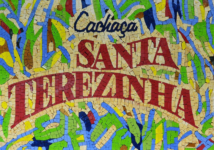 Customized Marble Mosaic For Santa Terezinha